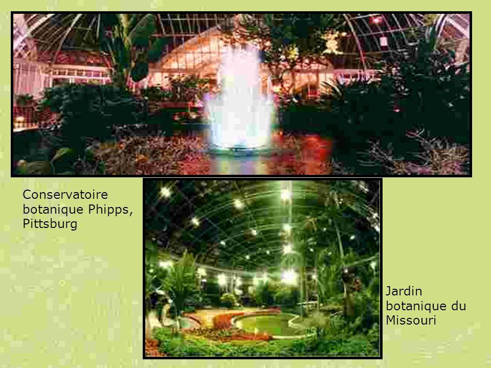 Conservatoire botanique Phipps, Pittsburg Jardin botanique du Missouri