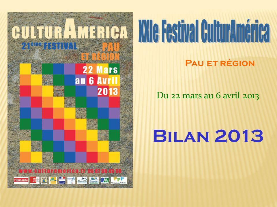 Pau et région Du 22 mars au 6 avril 2013 Bilan 2013
