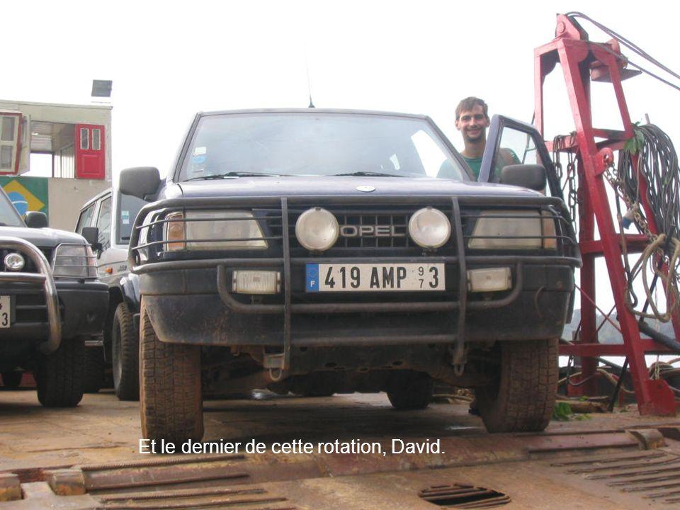 Et le dernier de cette rotation, David.