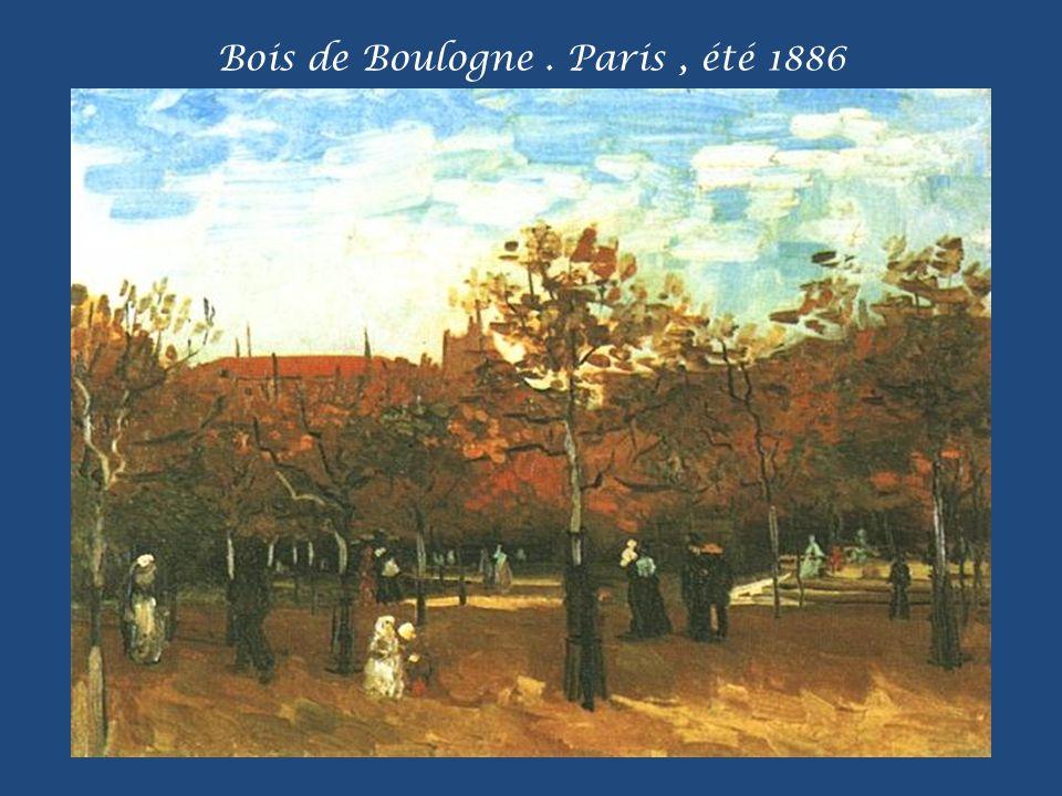 Boulevard de Clichy. Paris. Février 1887