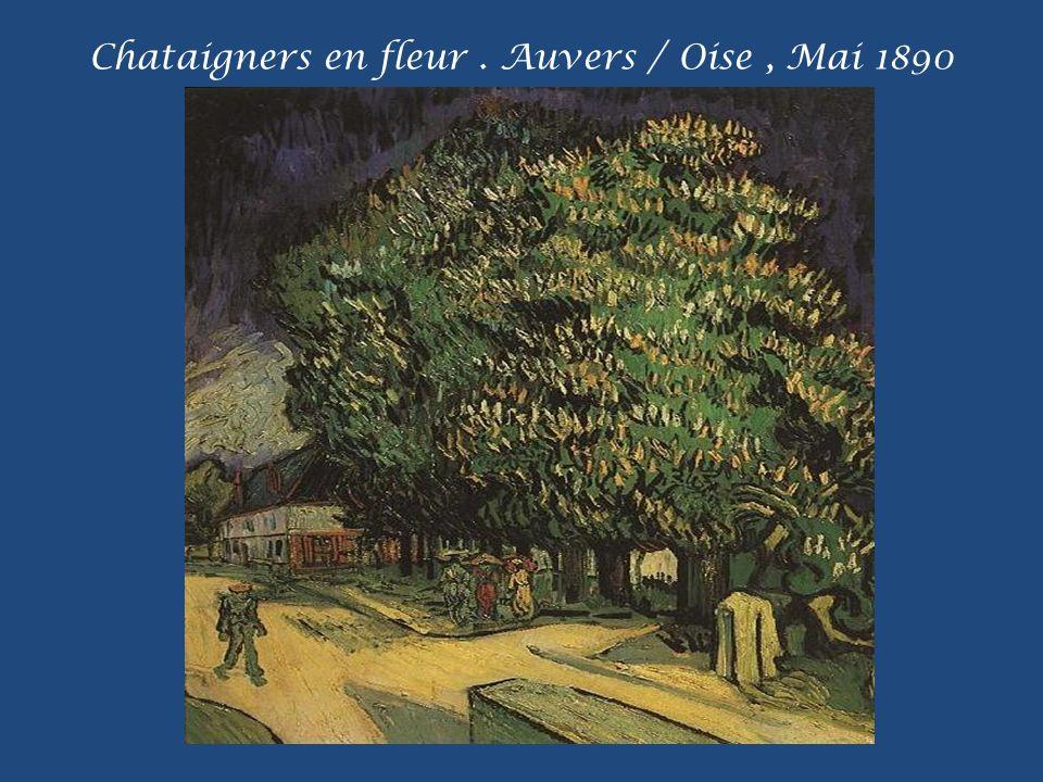 Champs de blé aux coquelicots. Paris, Printemps 1887