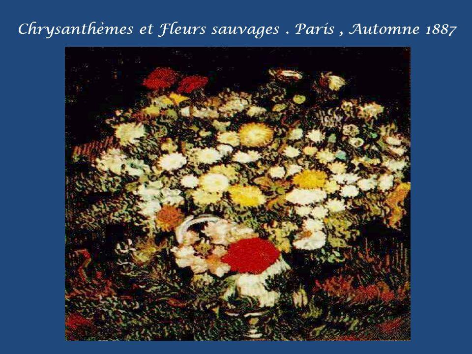 Chataigners en fleur. Auvers / Oise, Mai 1890