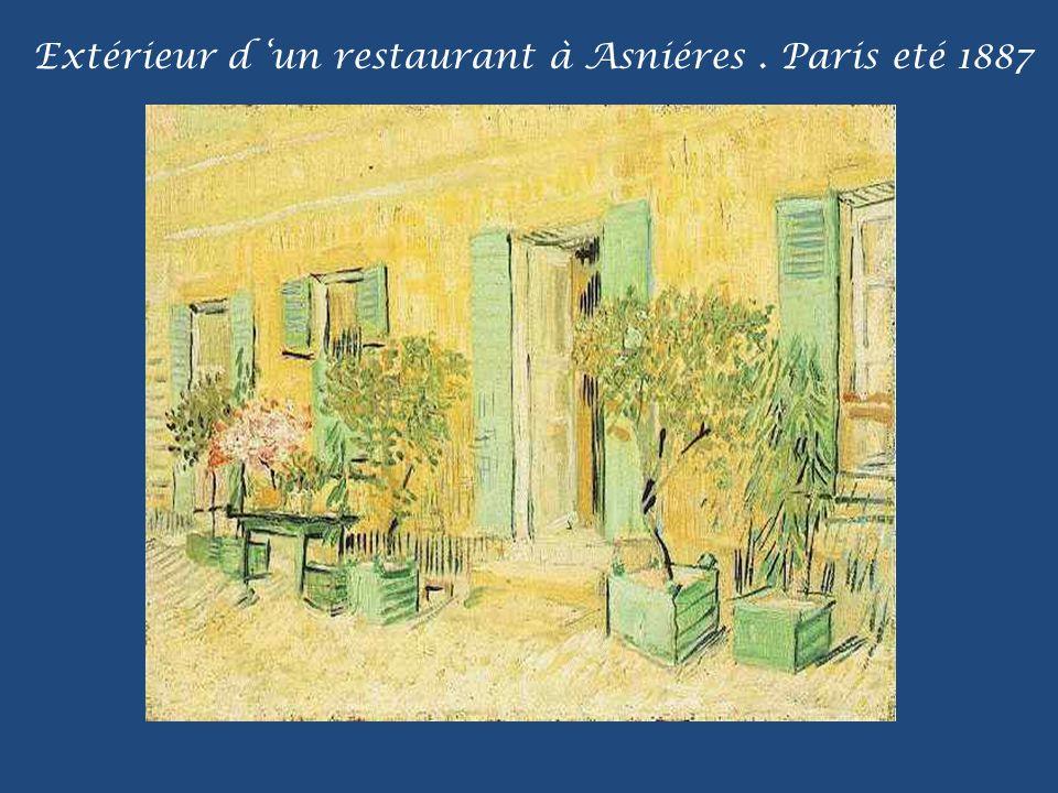 Entrée du parc public en Arles. Septembre 1888