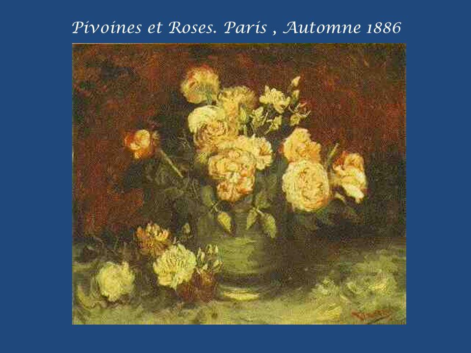 Marronnier en fleur. Auvers/Oise, Mai 1890