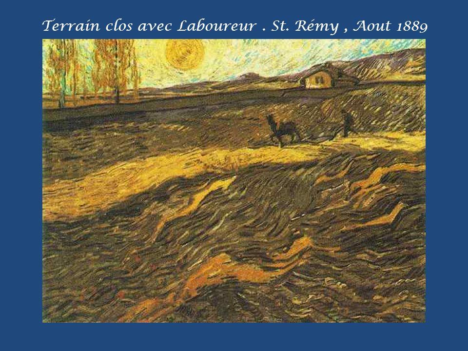 Soirée: La fin d une journée. St. Rémy, Novembre 1889