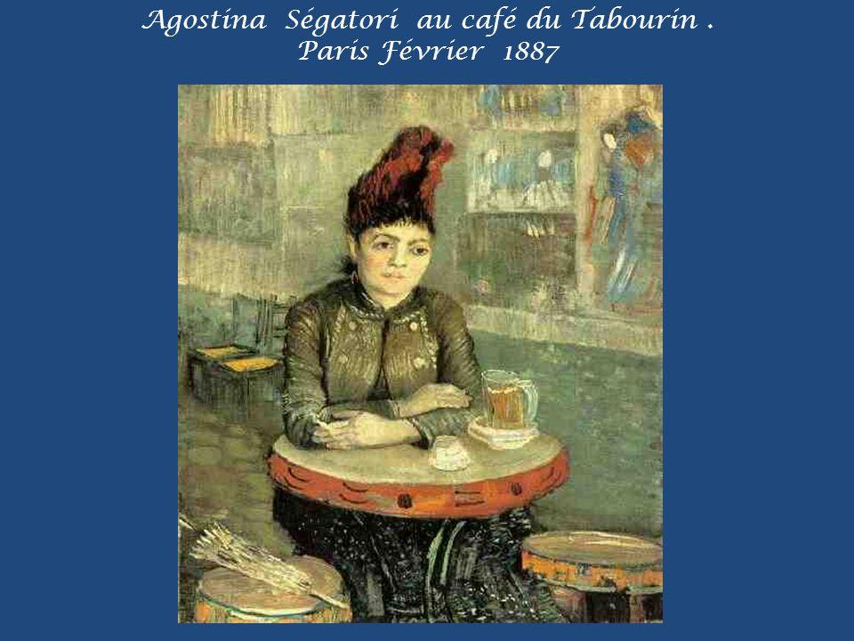 Agostina Ségatori au café du Tabourin. Paris Février 1887