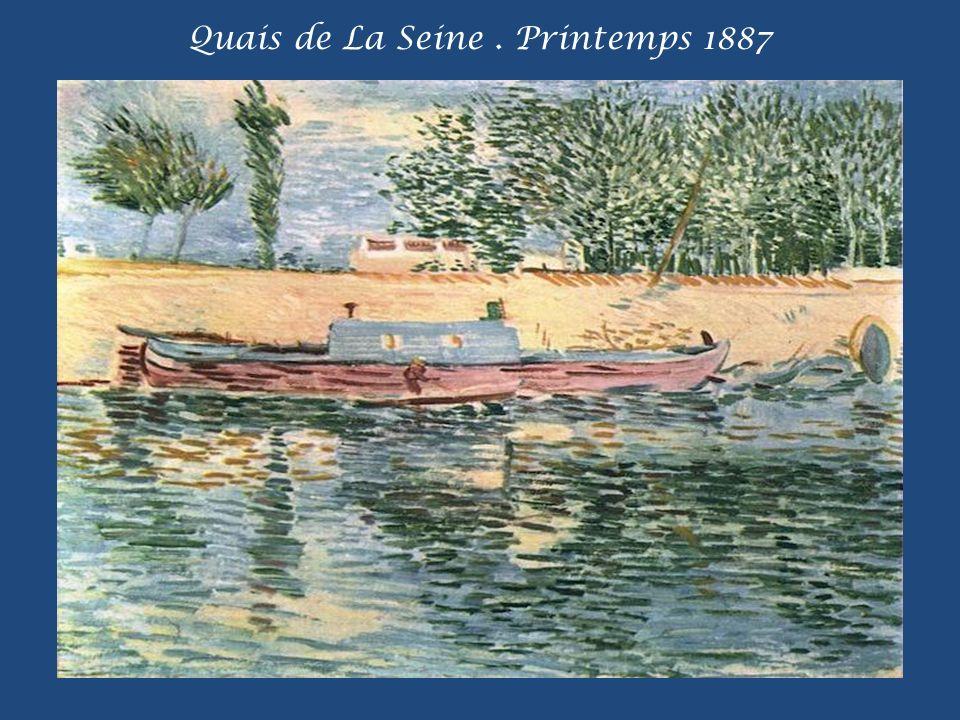 Quais de La Seine. Printemps 1887