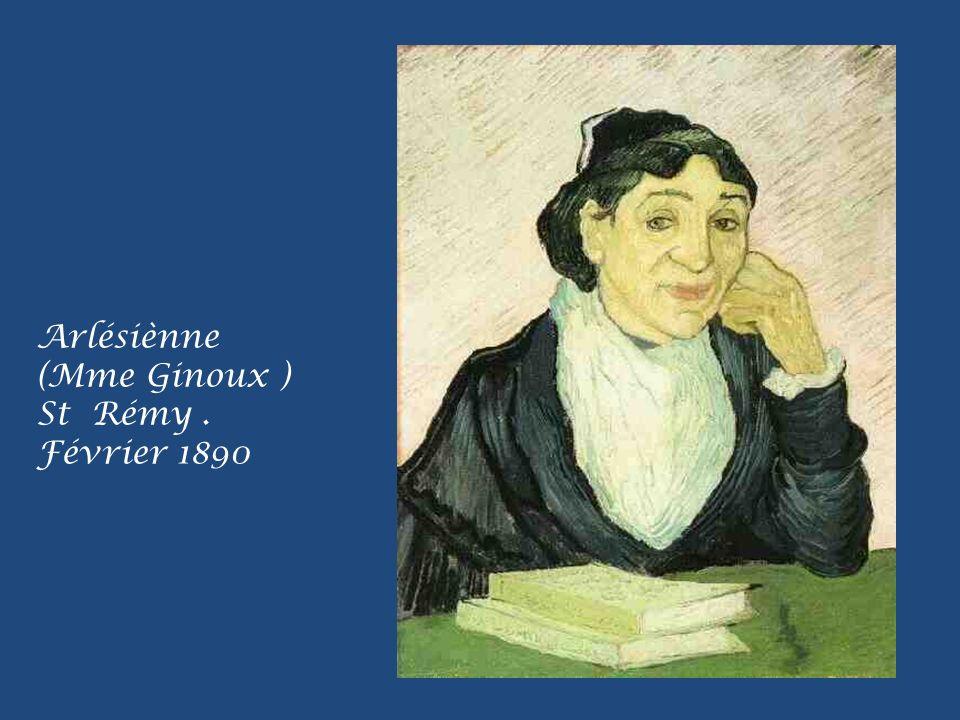 Arlésiènne (Mme Ginoux ) St Rémy. Février 1890