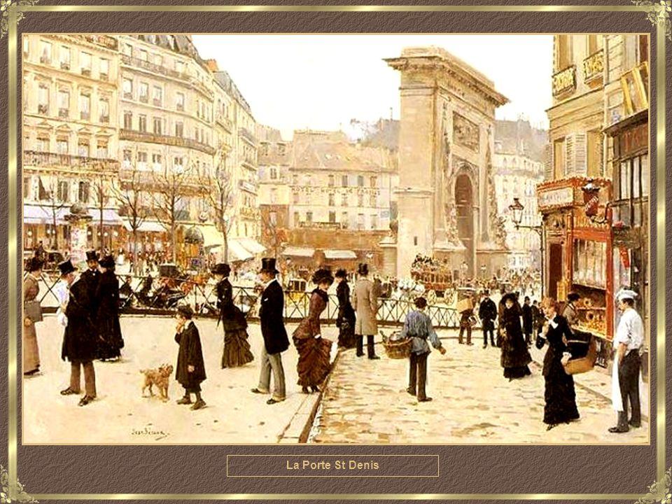 Parisienne, Place de la Concorde