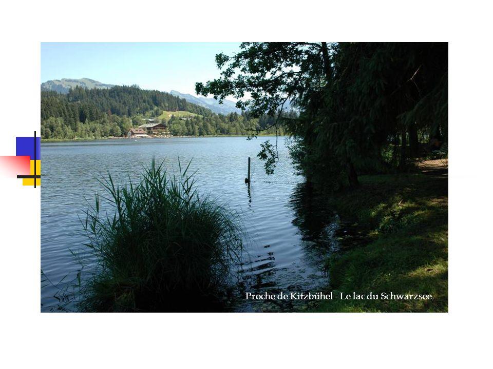 Proche de Kitzbühel - Le lac du Schwarzsee,