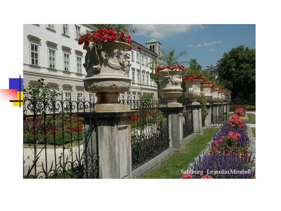 Salzburg - Le jardin Mirabell