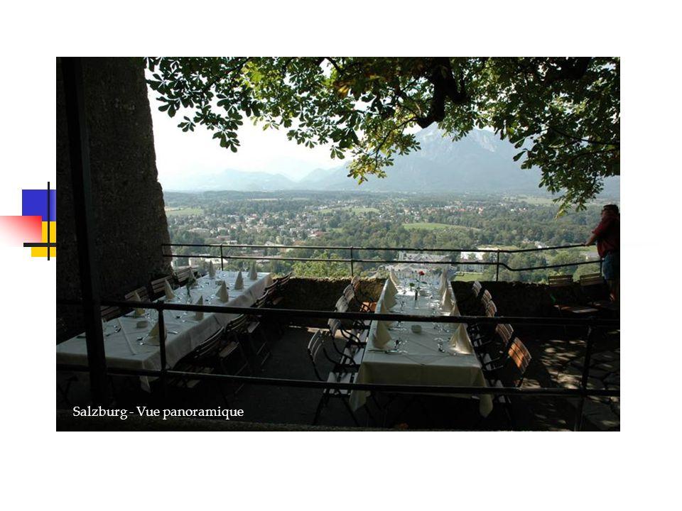 Salzburg - Vue panoramique