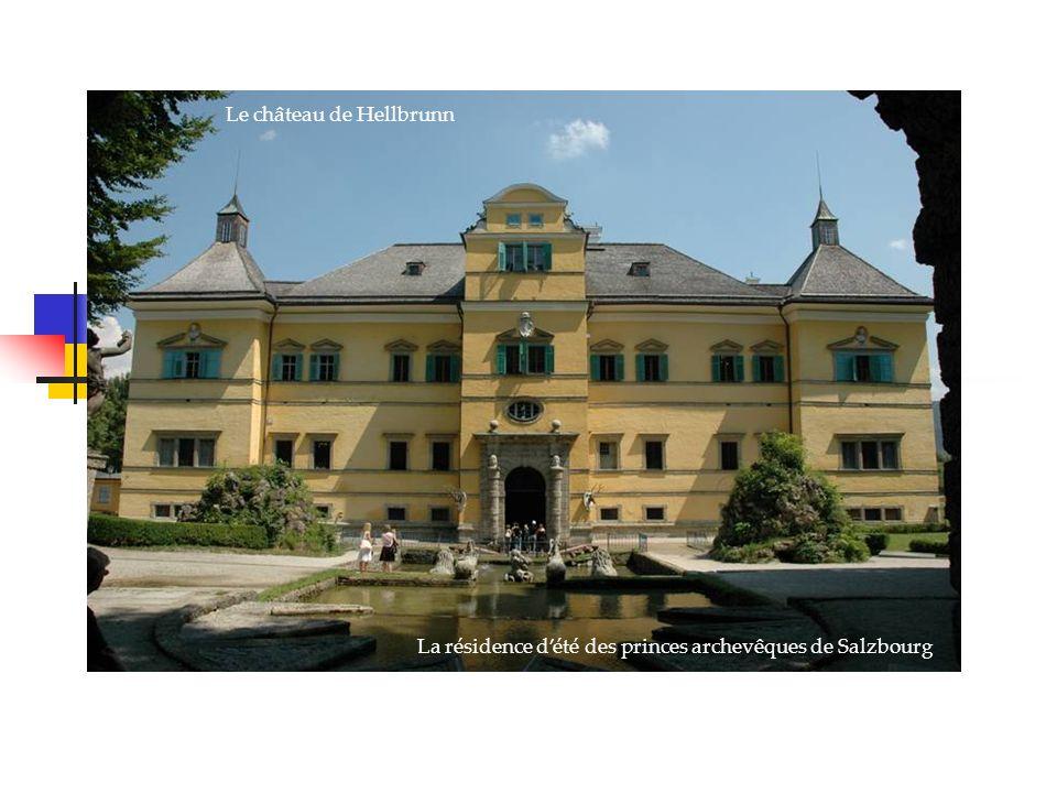 Le château de Hellbrunn La résidence dété des princes archevêques de Salzbourg