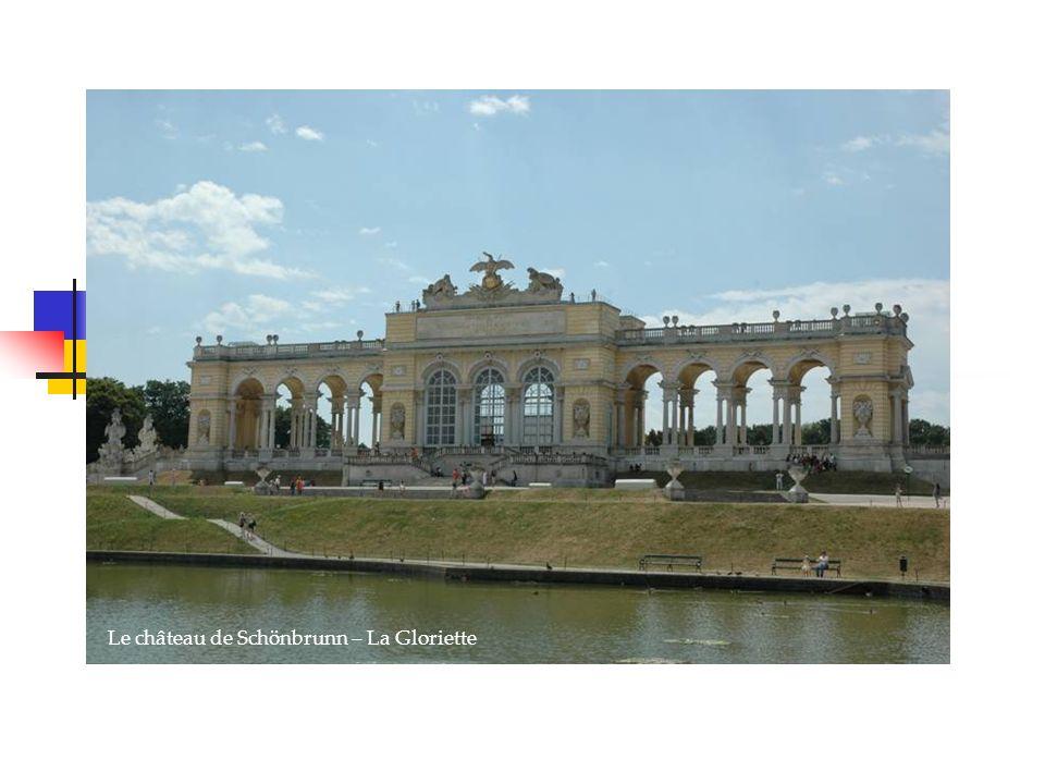 Le château de Schönbrunn – La Gloriette