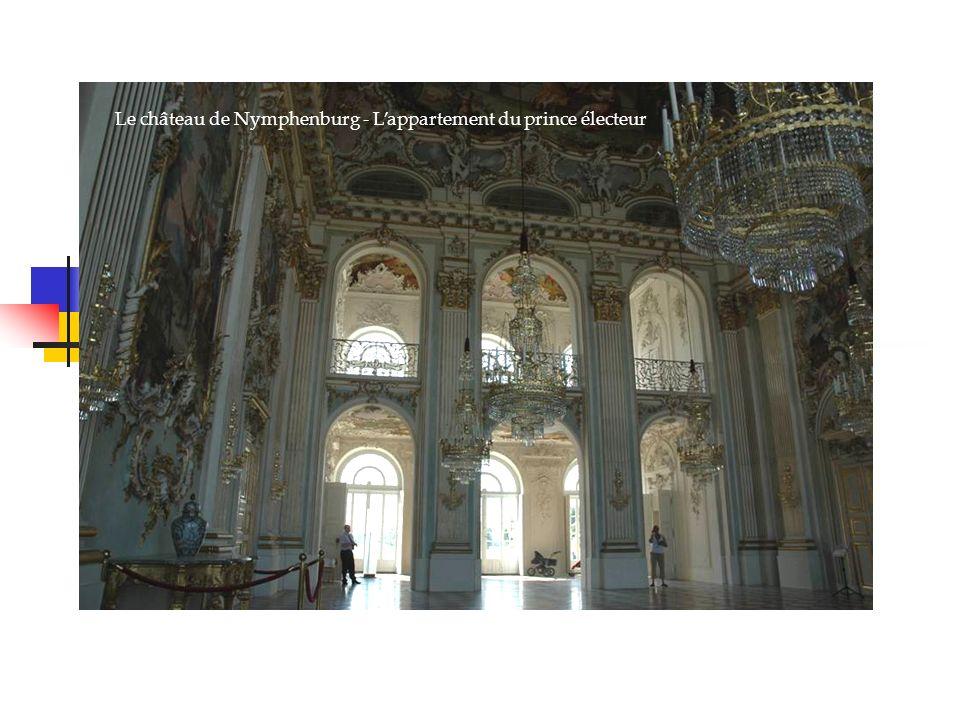 Le château de Nymphenburg - Lappartement du prince électeur