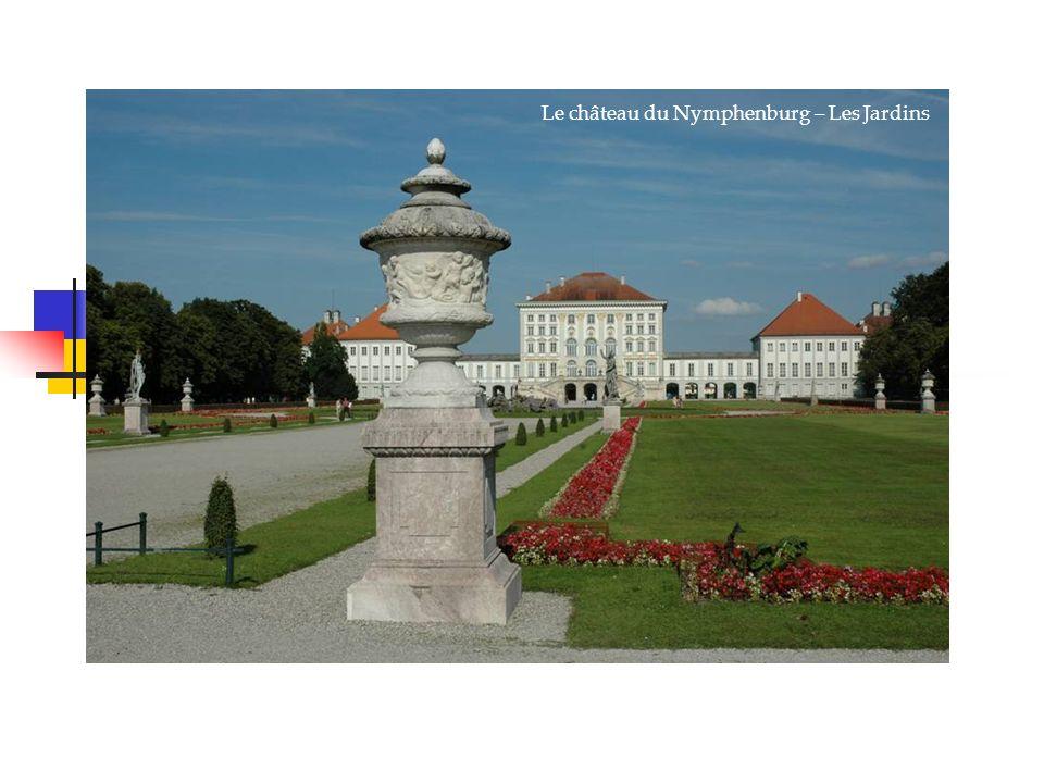 Le château du Nymphenburg – Les Jardins