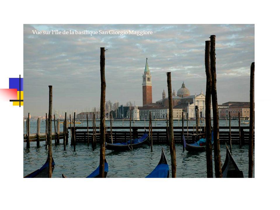 Vue sur lîle de la basilique San Giorgio Maggiore Venise, la sérénissime