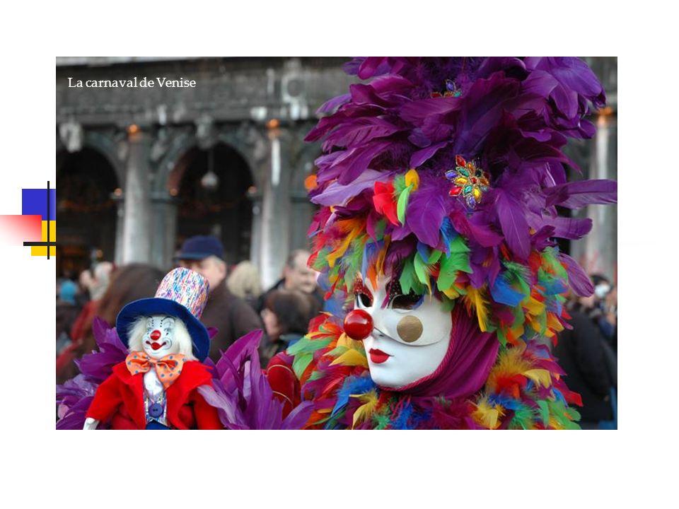 La carnaval de Venise