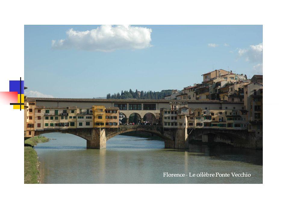 Venise, la sérénissime Florence - Le célèbre Ponte Vecchio