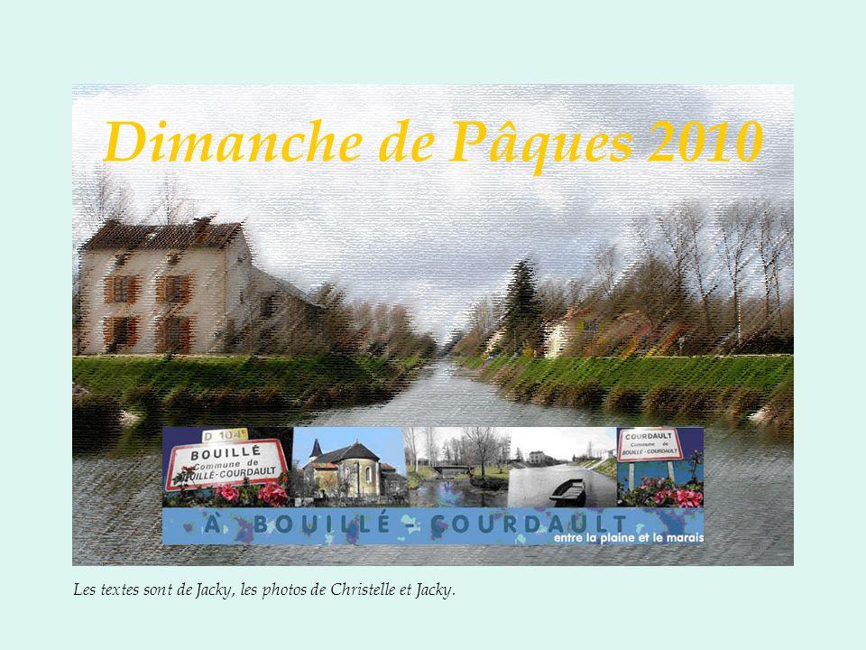 D imanche 4 Avril, comme les cloches, nous nous retrouvons sur le parking de lAFFAC, pour un voyage bien moins long… Direction la Vendée profonde à Bouillé-Courdault.