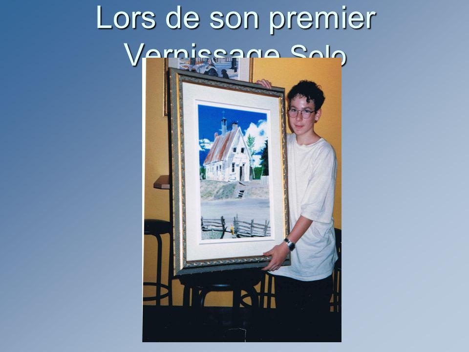Je vous présente Dominique Lafrenière