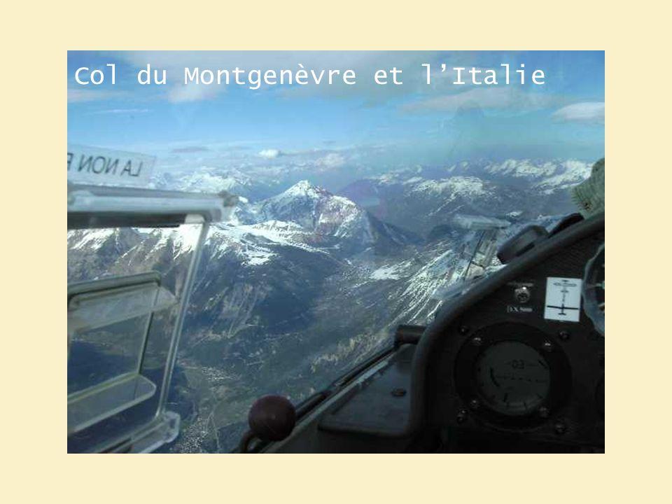 Col du Montgenèvre et lItalie
