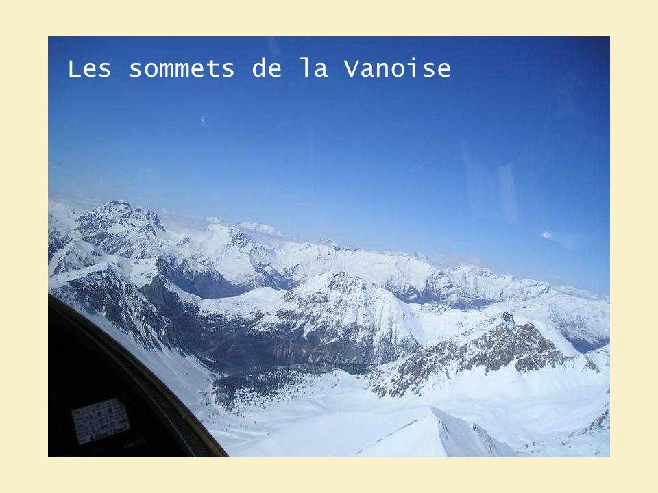 Les sommets de la Vanoise