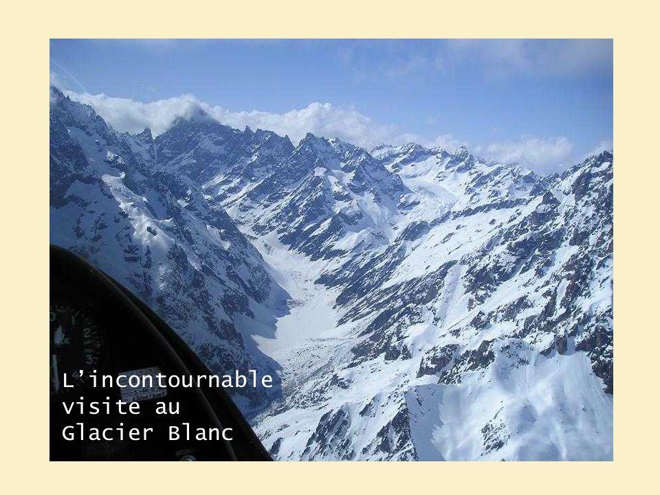 Lincontournable visite au Glacier Blanc