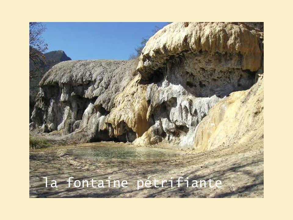 la fontaine pétrifiante