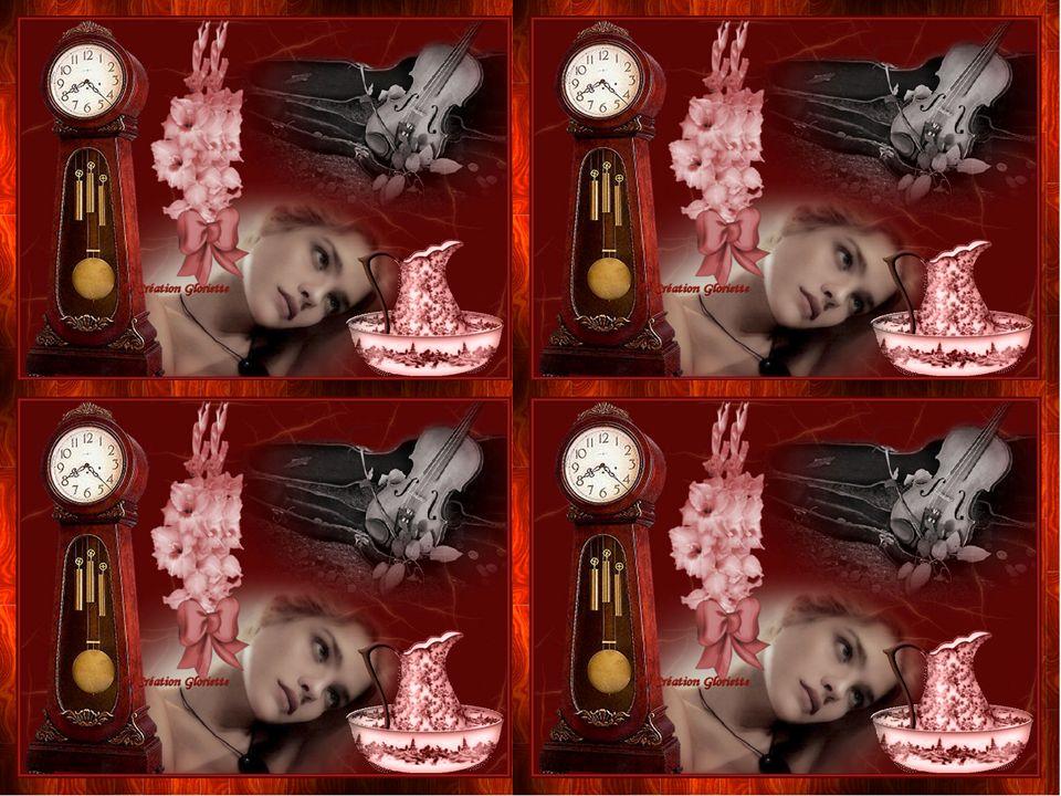 Dans ce grenier que le temps décompose Le vieux violon rêvait de métamorphose Une vieille horloge où sécoulait le temps Sans foi, sans loi et sans auc