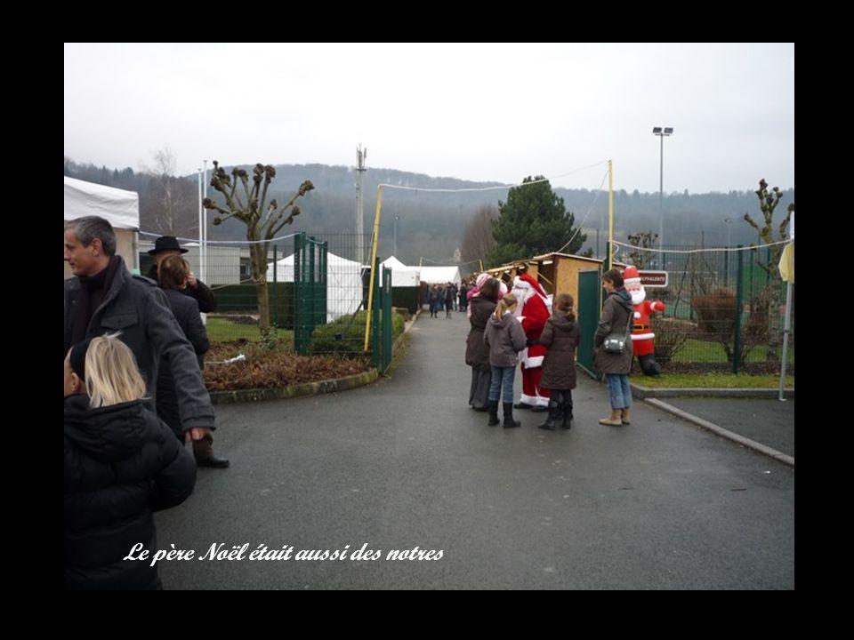 Le père Noël était aussi des notres
