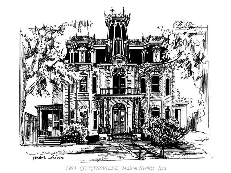 1993 COWANSVILLE Maison Nesbitt - côté