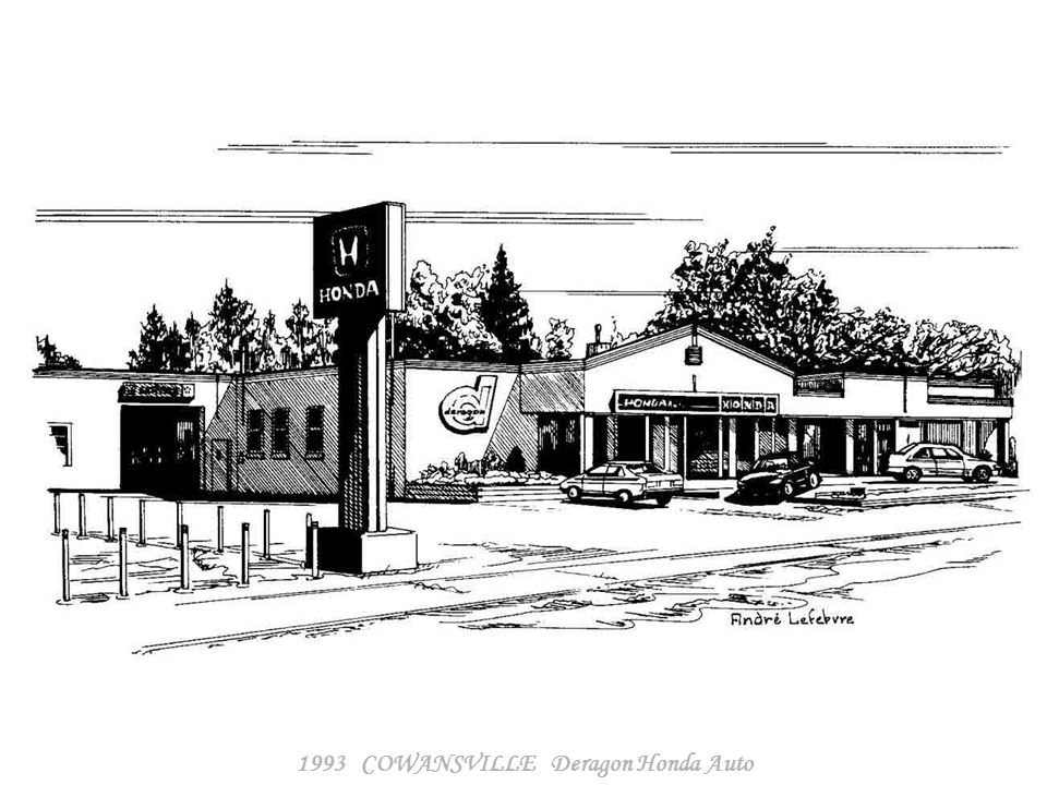 1993 COWANSVILLE La Porte Ouverte - Le Marie-Jeanne Café