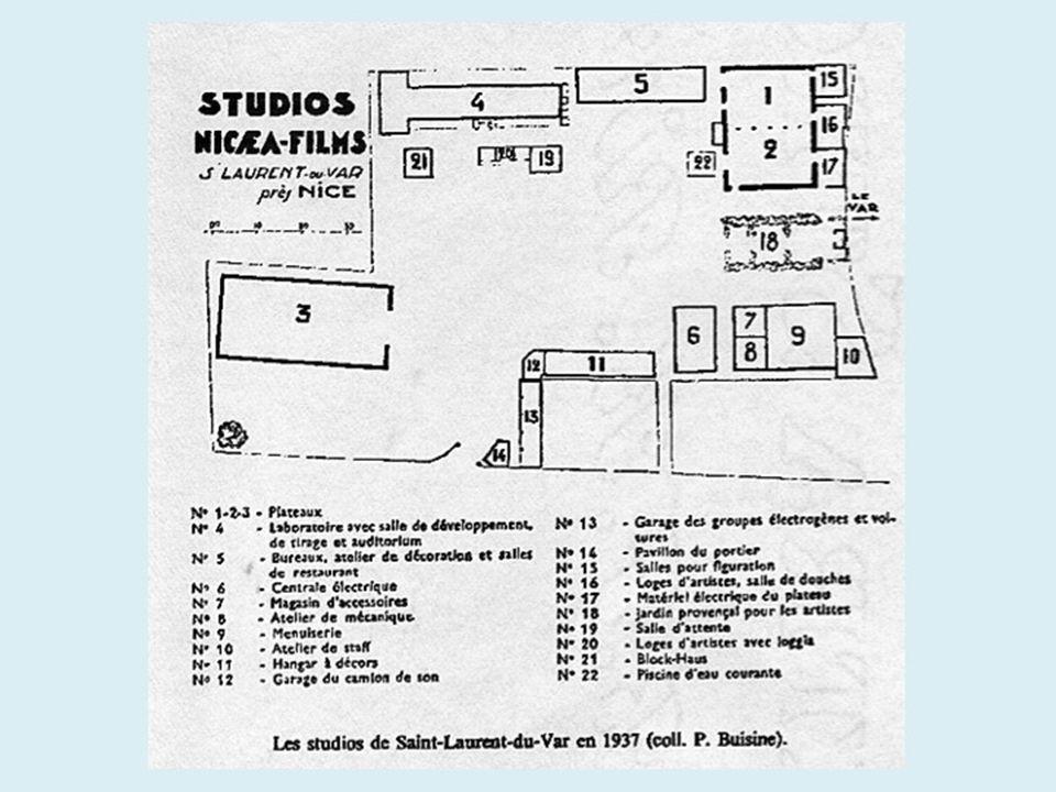 Les studios de cinéma se trouvaient entre lavenue Emile Dechame et lAvenue Léonard Arnaud, proche du Var. Aujourdhui, une rue rappelle ce passé : Allé