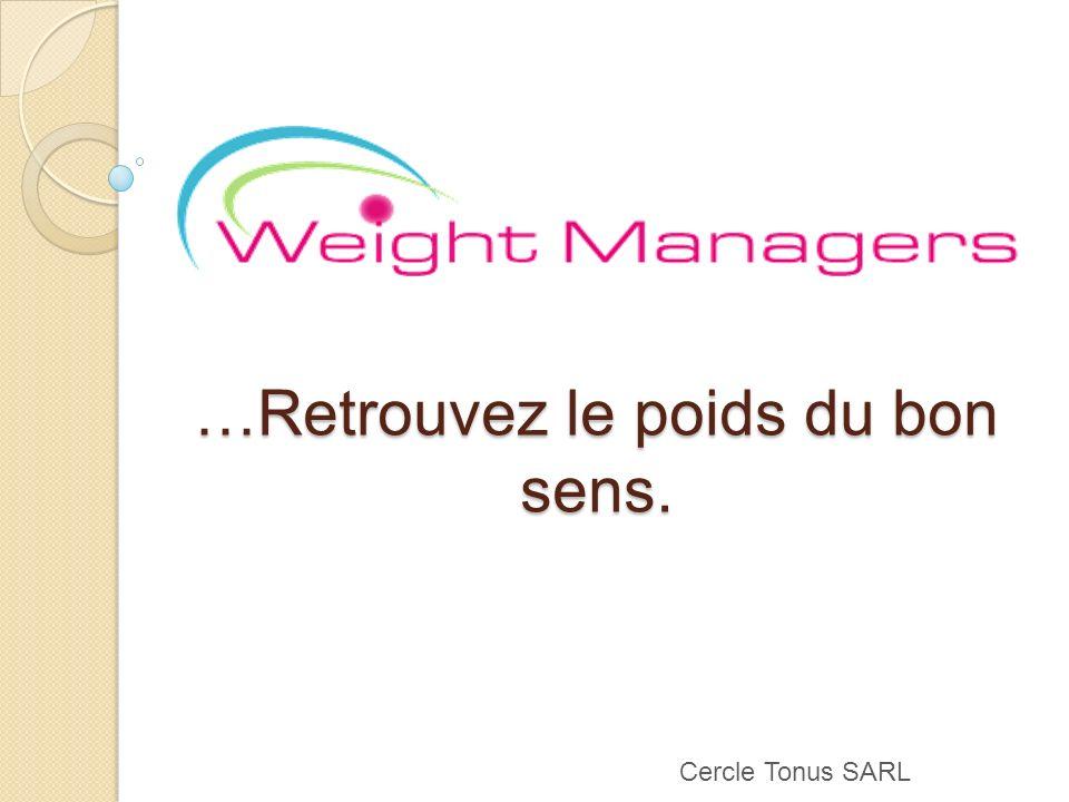 Cercle Tonus SARL …Retrouvez le poids du bon sens.