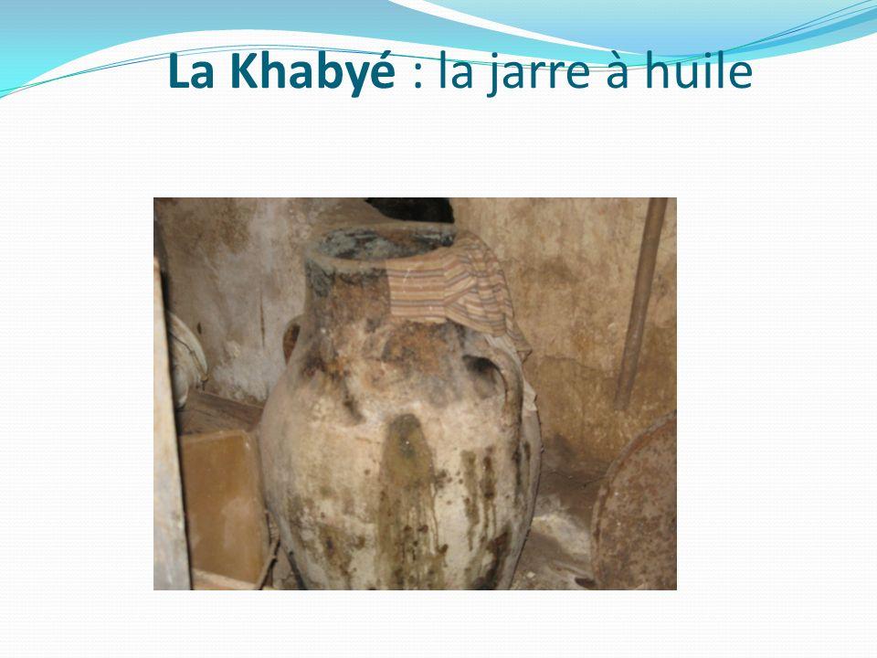 La Khabyé : la jarre à huile