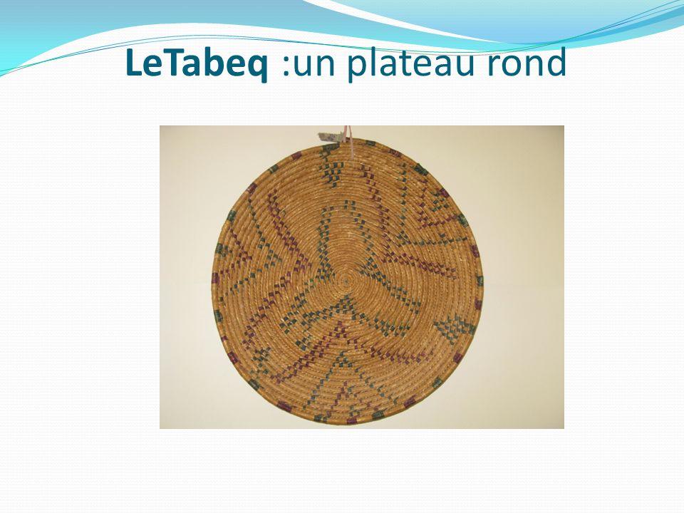LeTabeq :un plateau rond