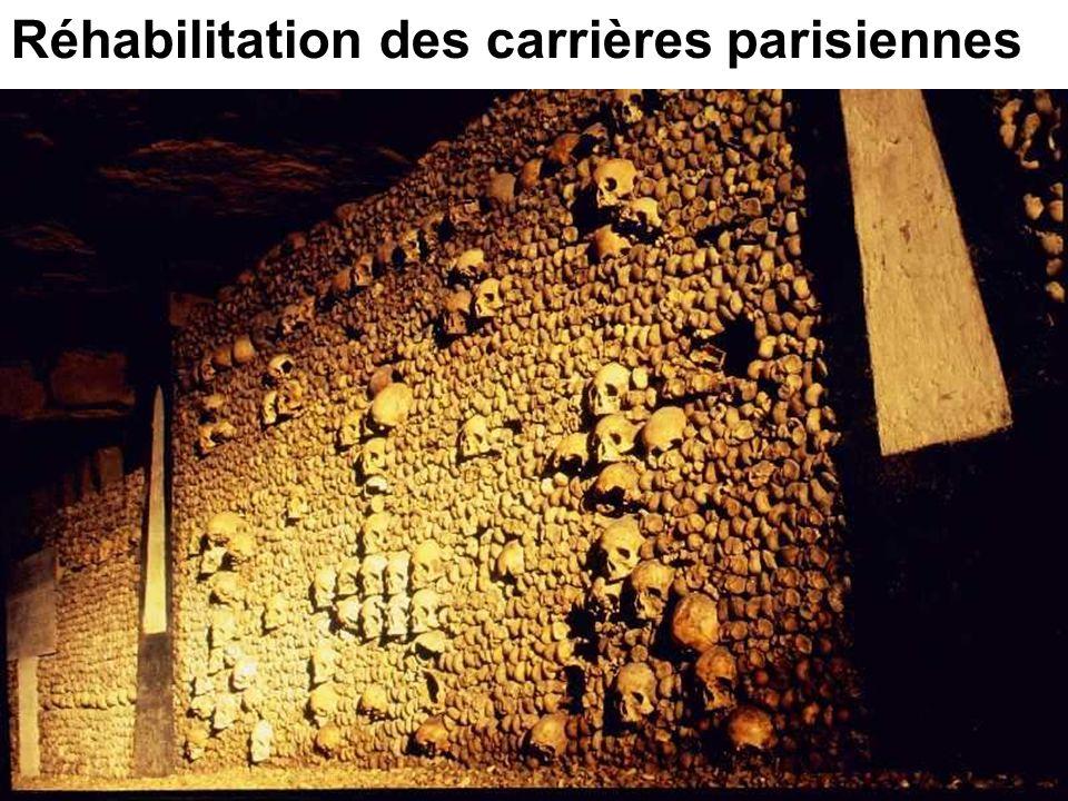 Réhabilitation des carrières parisiennes