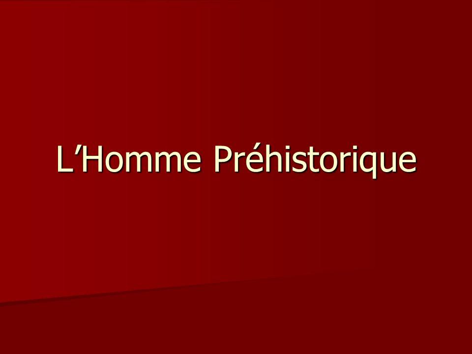 LHomme Préhistorique