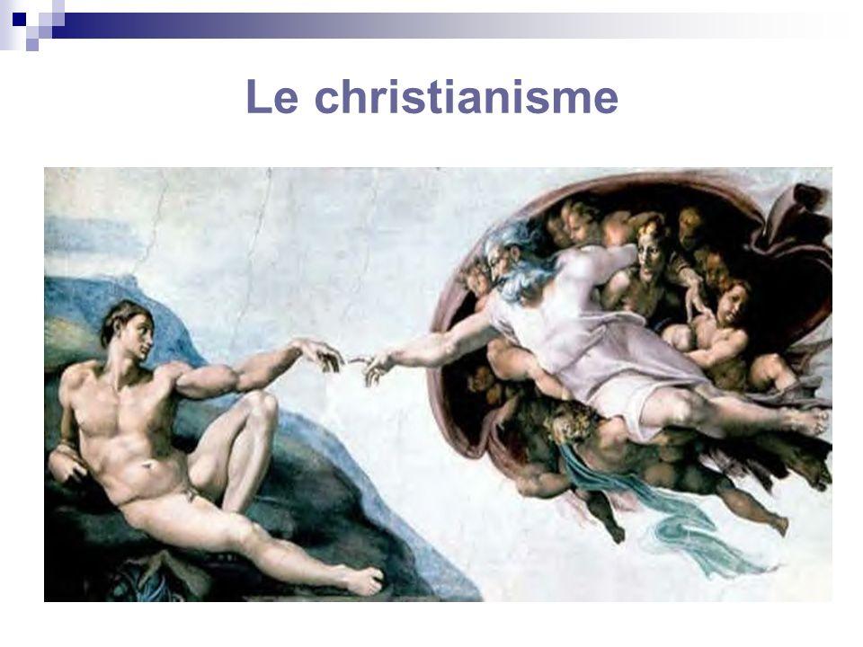 Le christianisme (1) Système de pensée dominant durant le Moyen-âge en Europe Deux acquis : 1.