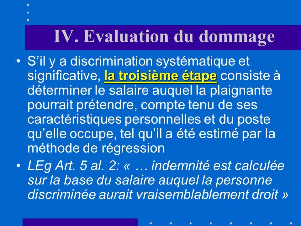 III. Détermination de la discrimination fonction de toutes les variables explicativesToute la difficulté de la méthode consiste à effectuer une estima