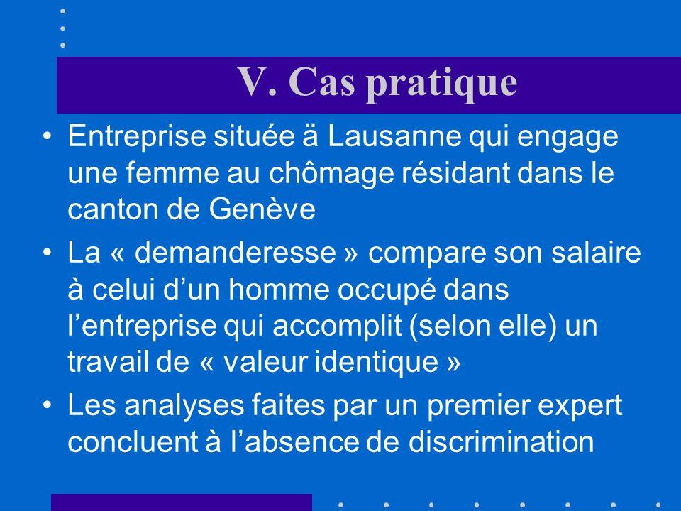 IV. Evaluation du dommage Pour ce faire, il faut au préalable déterminer si léquation estimée permet effectivement de prévoir le salaire du personnel