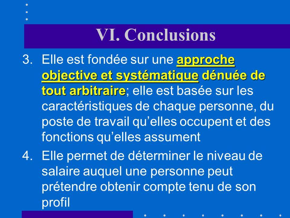 VI. Conclusions La méthode présente des avantages indéniables La méthode présente des avantages indéniables (ATF III 145) : analyse positive aucun jug