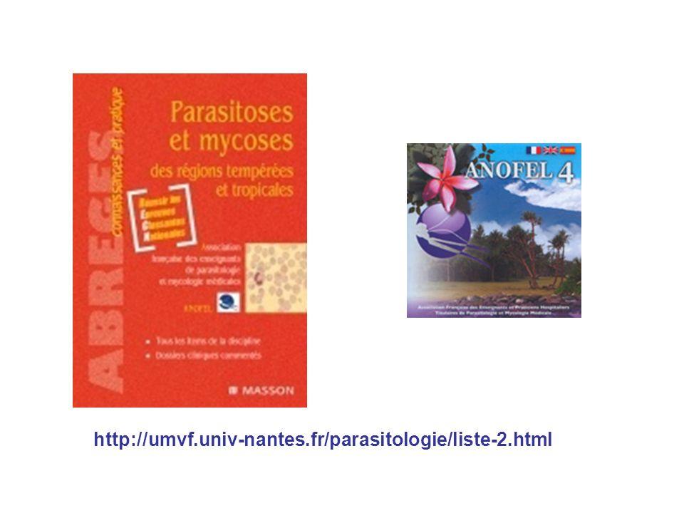 http://umvf.univ-nantes.fr/parasitologie/liste-2.html