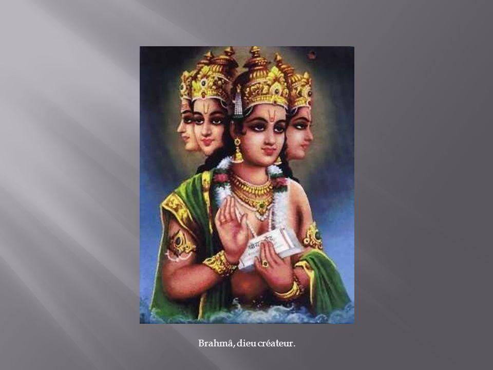 Brahmâ, dieu créateur.