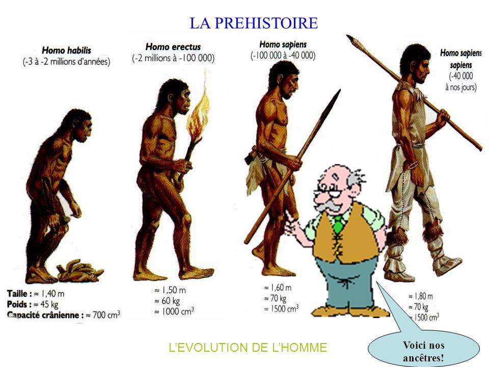 L' ANTIQUITE LE MOYEN-ÂGE LES TEMPS MODERNES LE XIX e LE XXe LA PREHISTOIRE Nous partons à la découverte des six périodes de lhistoire à travers un gr