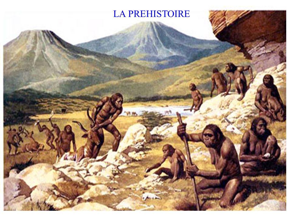 Galet aménagéBiface Un biface emmanché Une sagaie (une lance) LES OUTILS ET LEUR EVOLUTION Ces outils leur ont permis de chasser et de pêcher !