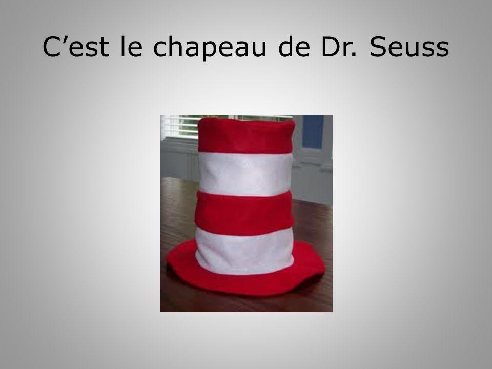 Cest le chapeau de Dr. Seuss