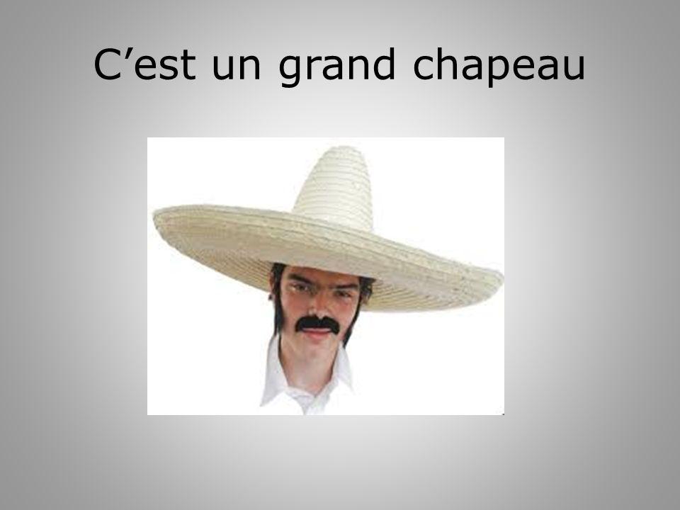 Cest un grand chapeau