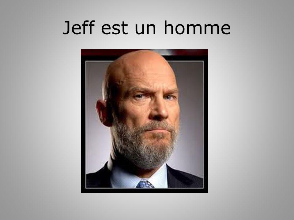 Jeff est un homme